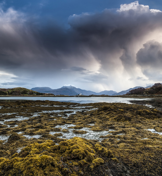 Sky on Skye, Inner Hebrides, Scotland