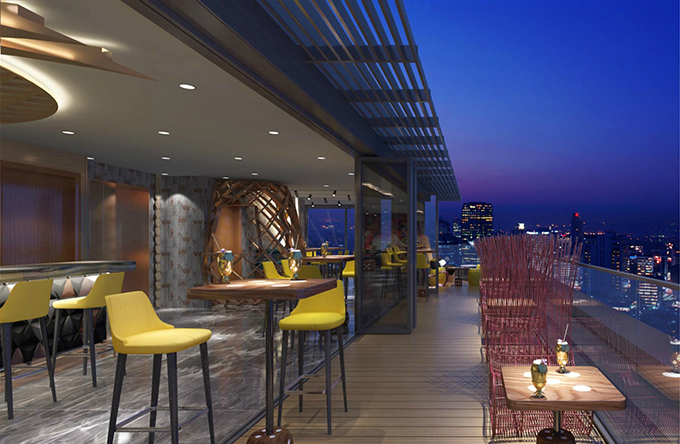 Skybar Dorsett Hotel, Aldgate, London | British hotel | Best new British hotels 2017