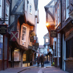York's famously crooked street, Shambles