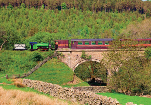 South Tynedale Railway, Northern England from Small Island by Little Train