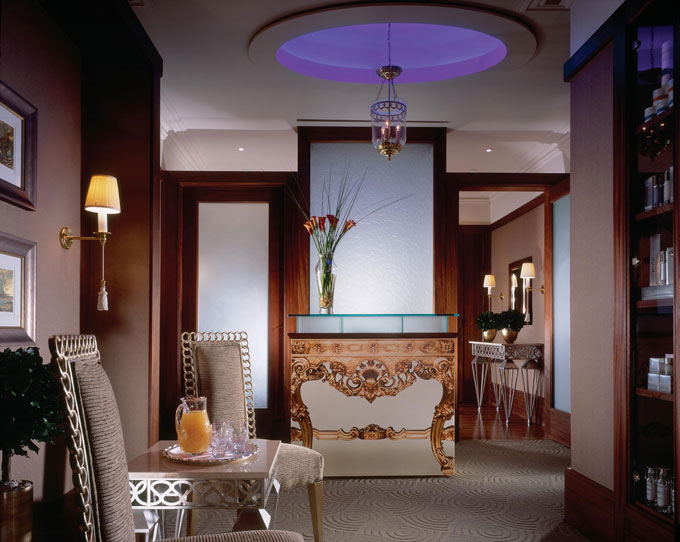 The Lanesborough's spa reception