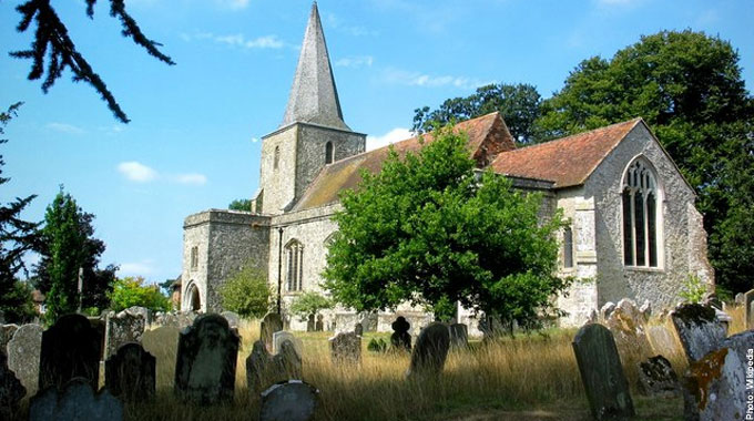 St Nicholas Church Pluckley Kent Most Haunted Places in Britain