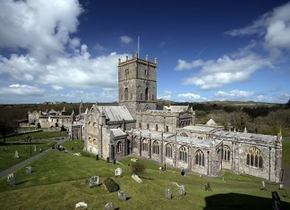 St David's Cathedral, StDavids, Pembrokeshire, Wales. St David's Day