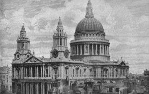 St Paul's Cathedral, photograph taken 1896