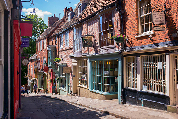 Steep Hill, Lincoln, Lincolnshire | Things to do in Lincoln