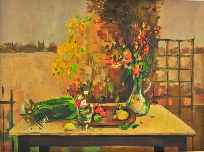 Still-Life-in-Autumn,-1955-by-Michael-Ayrton