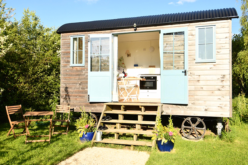 Stocklinch Shepherds Hut
