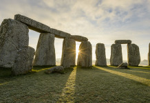 The prehistoric monument and UNESCO world heritage site, of Stonehenge. Credit: VisitBritain/Guy Richardson