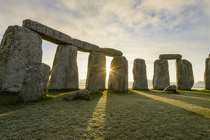 The prehistoric monument and UNESCO world heritage site, of Stonehenge. Visit Great Britain