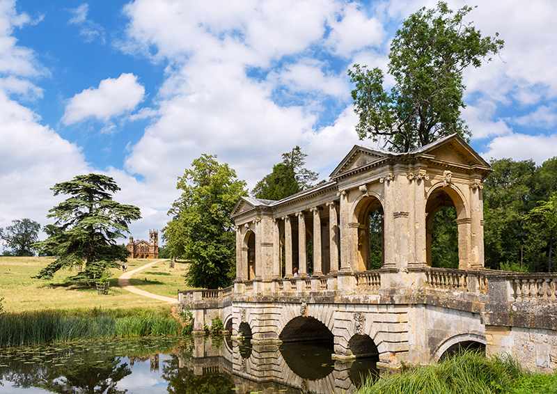 The Palladian Bridge at Stowe