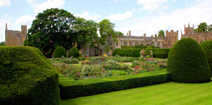 The Queens' Garden at Sudeley Castle