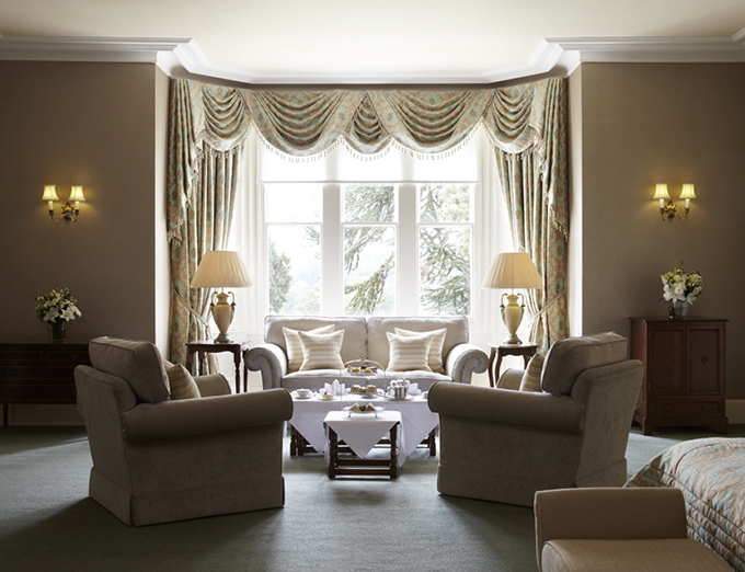Suite at the Ashdown Park hotel and Country Club, Sussex