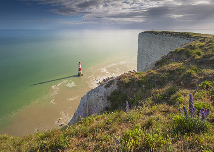 Sundial, Beachy Head, East Sussex, England