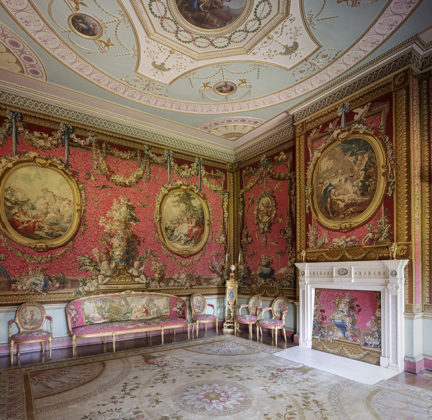 Tapestry Room, Osterley Park, London's stately homes