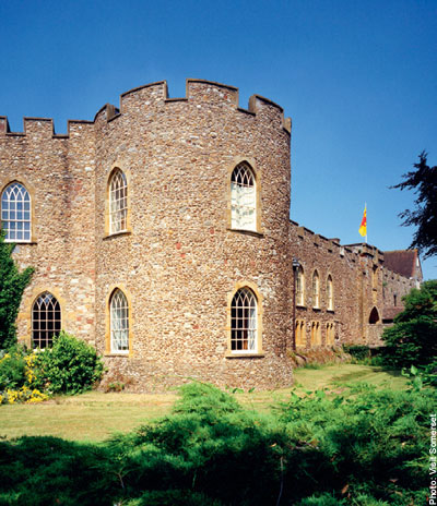 Taunton Castle in Somerset