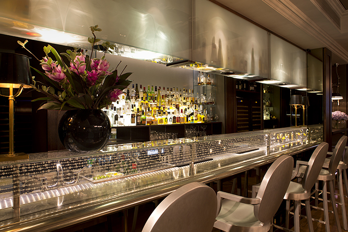 The bar closeup, The Arch London. Credit: The Arch London. Hotels in central London