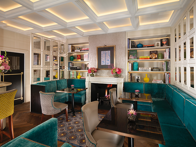 The Drawing Room, Flemings hotel, Mayfair, London