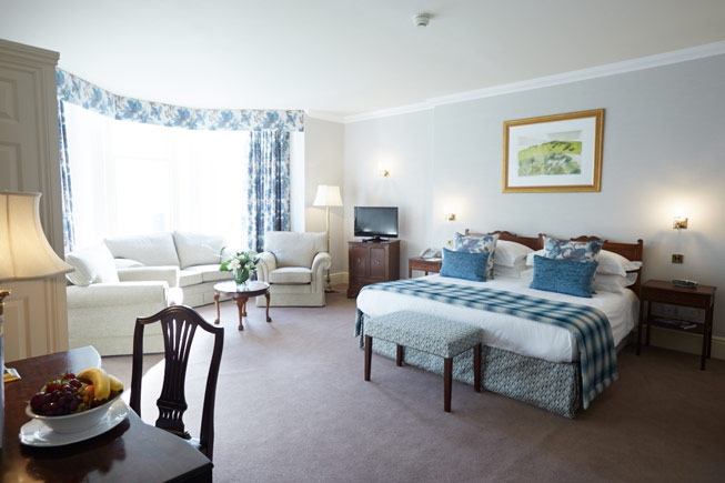 A suite at The Grand Hotel at Eastbourne