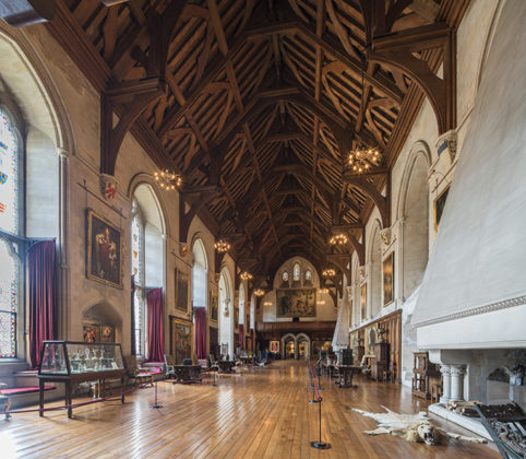 The Great hall, Arundel Castle,. Photos of Arundel Castle, Arundel Castle interiors