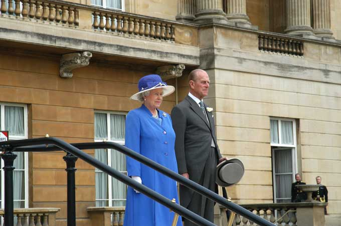 The Queen & Prince Philip