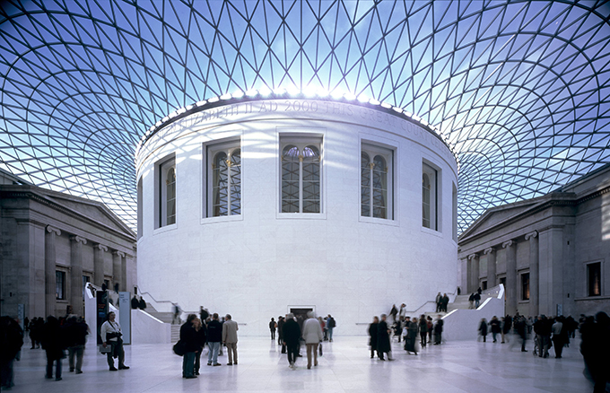 The Reading Room in the Great Court of the British Museum.12 wonders of Britain: British places everyone should visit once