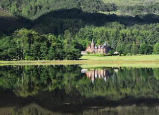 The Torridon Scotland. This Victorian hotel, is located on the shores of Loch Torridon in Wester Ross, the Highlands