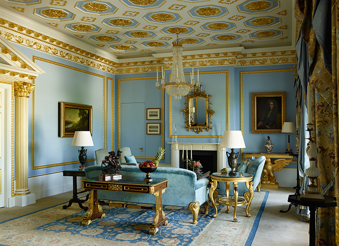 The Royal Suite at The Lanesborough, Knightsbridge, London. Hotels in central London