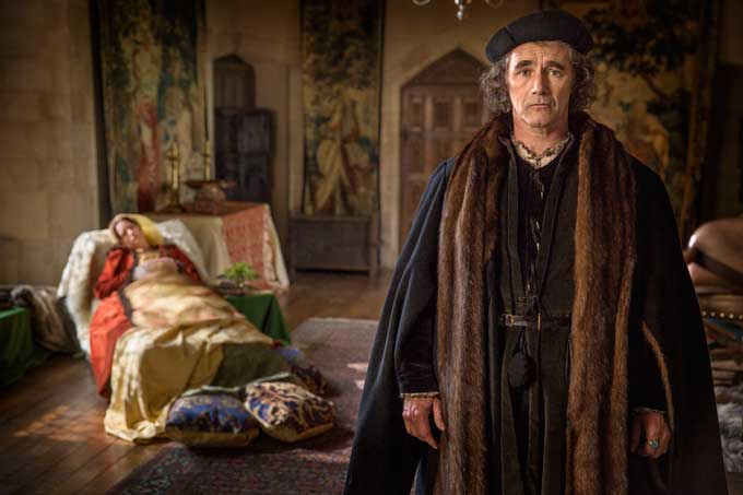 Mark Rylance as Thomas More in Wolf Hall