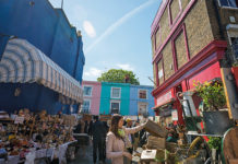 Best London Markets - Portobello Market