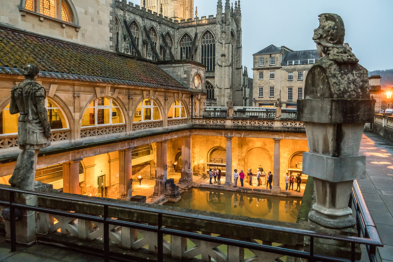 Torchlit Summer Evenings at the Roman Baths