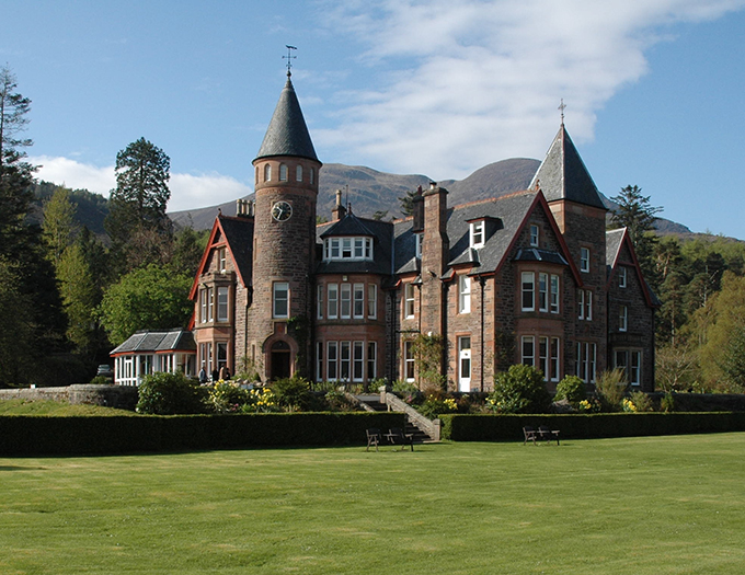 The Torridon Hotel and Inn makes our list of the best hotels in Scotland due to its dramatic views, luxury rooms and first-class restaurant