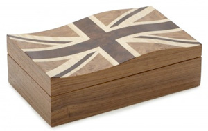 Union Jack Flag trinket box