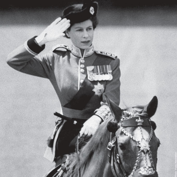 The Queen First Trooping of the colour