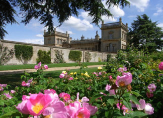 Grimsthorpe Castle in Lincolnshire