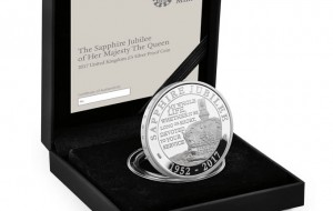 Royal Mint, Sapphire Jubilee coin