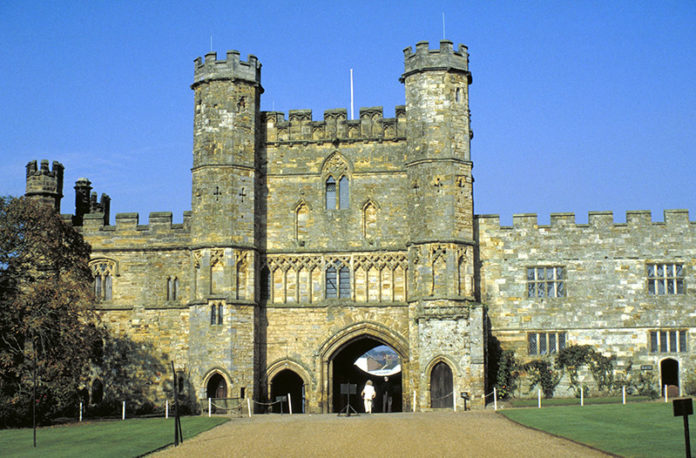 Battle Abbey, East Sussex, England. Credit: Visit Britain