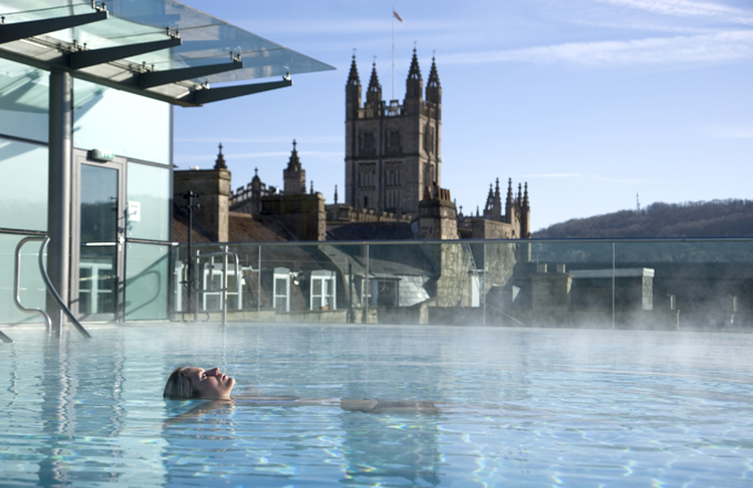 Bath Thermae Spa. Credit: VisitBritain