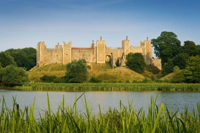 Framlingham Castle in Suffolk © Visit Britain