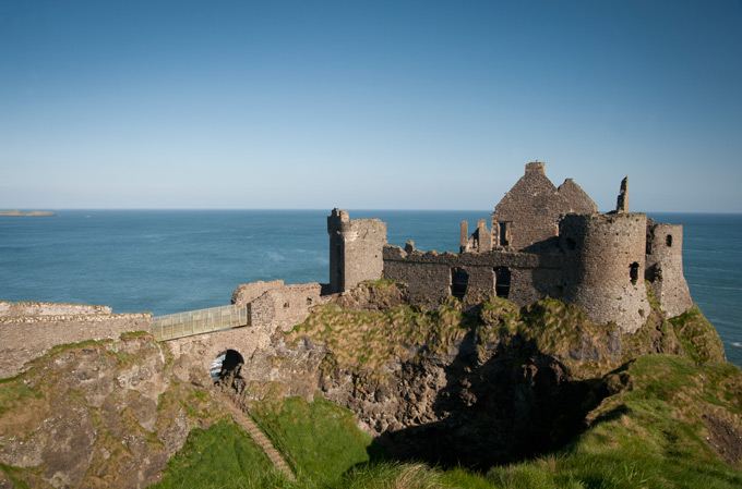 Dunluce Castle, County Antrim, Northern Ireland. Credit: VisitBritain. History of St Patrick's Day