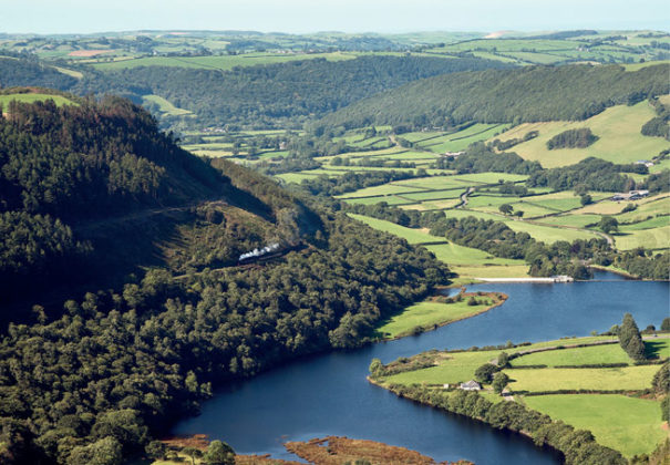 Vale of Rheidol Railway, Wales from Small Island by Little Train. Image courtesy of John R. Jones