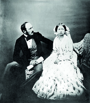 Queen Victoria and Prince Albert in 1854. Royal family, history, the real Queen Victoria