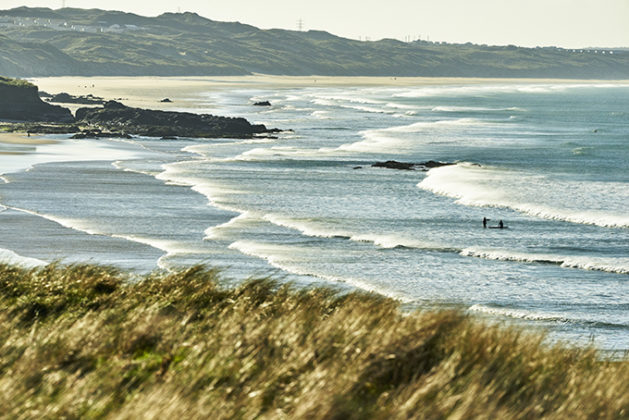 View from Godrevy, looking across St Ives Bay, Cornwall | photos of Cornwall | Beautiful cornwall in pictures