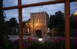 View from a Signature Ivy Room at The Angel Hotel, Bury St Edmunds