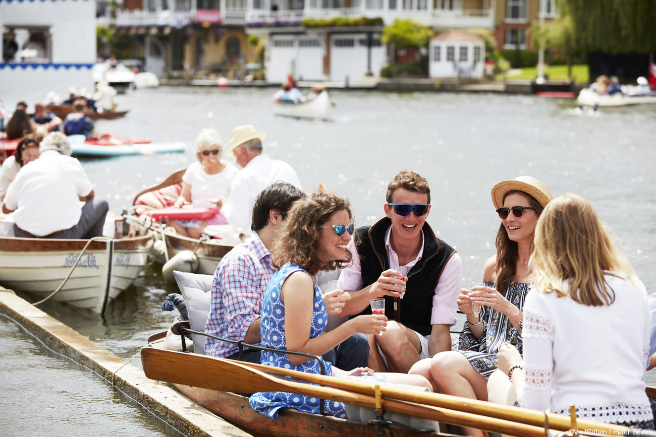 Henley Regatta. Credit: Visit Britain/Peter Beavis