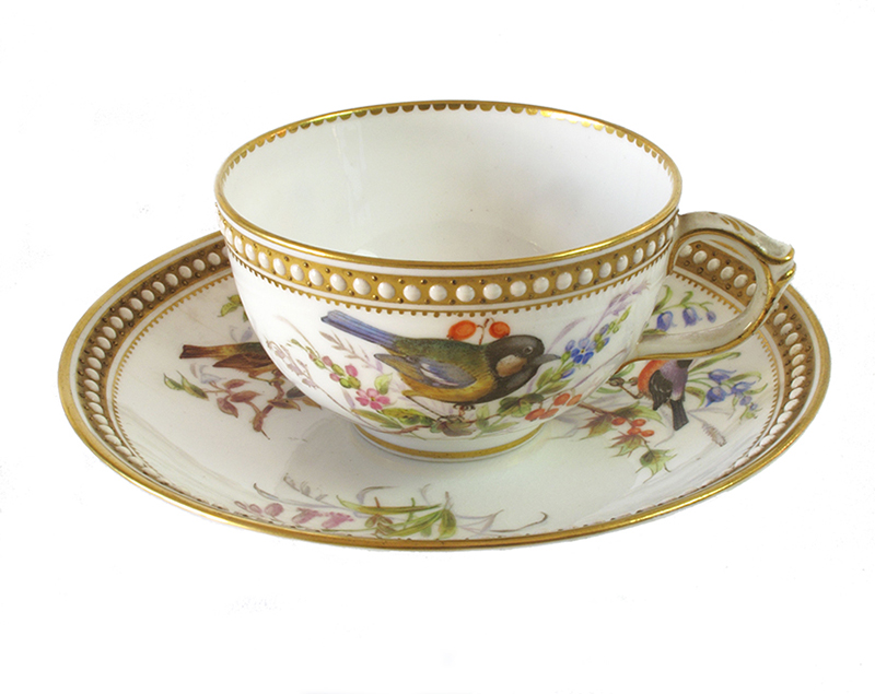 Royal Worcester tea cup and saucer
