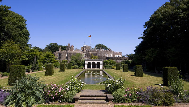 The Queen Mother's Garden, Walmer Castle