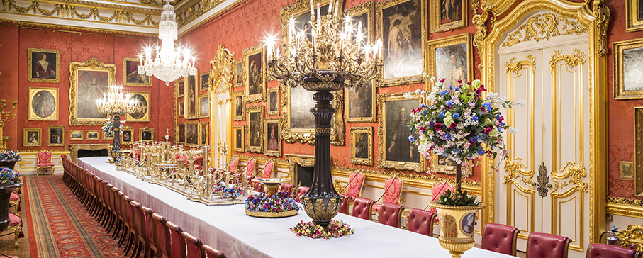 Waterloo Gallery, Waterloo Banquets, Apsley House, Number 1 London, Duke of Wellington, London's stately homes