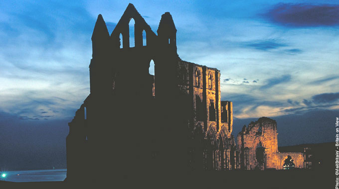 Whitby Abbey Most Haunted Places in Britain