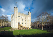 White Tower, Tower of London, history of London's castles
