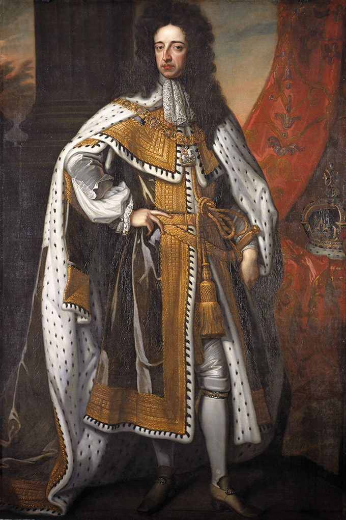 King William III (1650-1702) after Sir Godfrey Kneller (1646-1723) at Hardwick Hall, Derbyshire